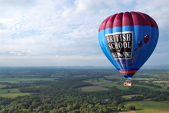 Hot-air balloon flights